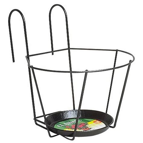 porte pot ext 233 rieur jardifer noir leroy merlin