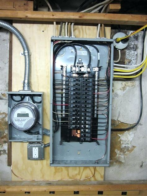 Mobile Home Meter And Breaker Box Wiring by 200 Breaker Panel Proveedoresdemineria Co
