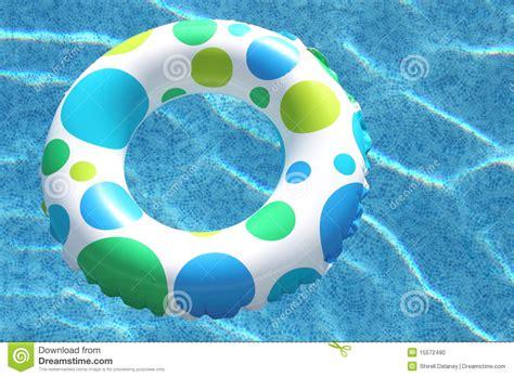 Inner Tube Swimming Pool Stock Images