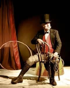 Circus Ringmaster Drawing