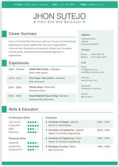 1000 images about creative resume templates on