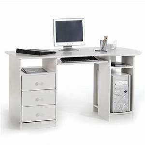 Bureau En Pin : bureau en pin bob lasur blanc mobil meubles ~ Teatrodelosmanantiales.com Idées de Décoration