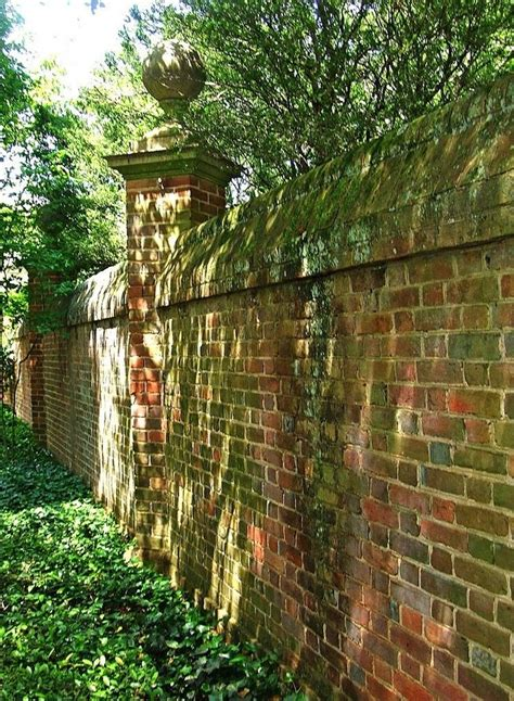 images of brick garden walls 17 best images about old english garden on pinterest gardens brick garden and cottage in