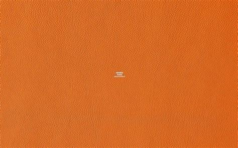 Aesthetic Orange Wallpaper Laptop by Hermes Leather 30 Gorgeous Wallpapers For Your Desktop