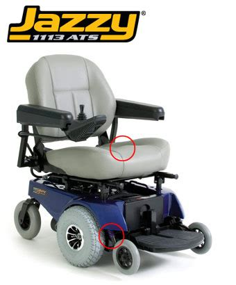 jazzy power wheelchair by pride