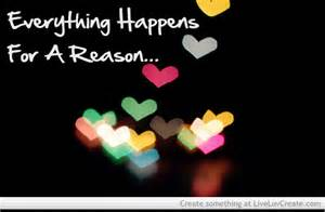 Funny Everything Happens for a Reason