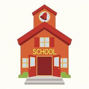 Elementary School Building Clipart – 101 Clip Art