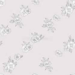 zwart witte bloemen op witte achtergrond vector illustratie illustratie bestaande uit mooi