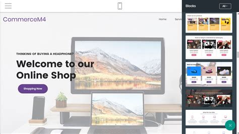 Ecommerce Template Mobirise by Free Html5 Responsive Templates