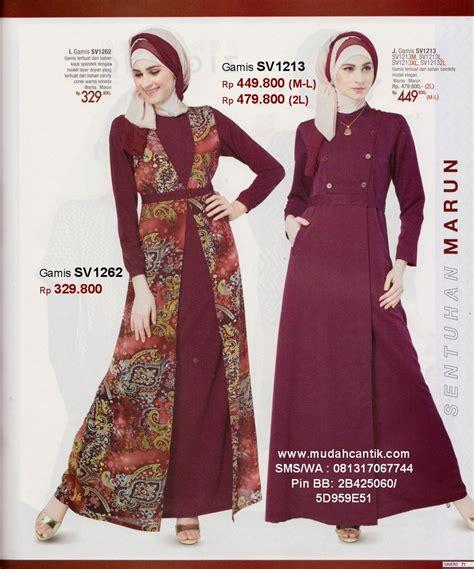butik baju muslim terbaru toko busana gamis jilbab