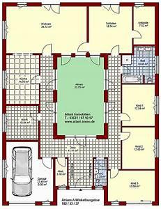 Atrium Bungalow Grundrisse : atrium a winkelbungalow 182 23 33 einfamilienhaus neubau massivbau stein auf stein ~ Bigdaddyawards.com Haus und Dekorationen