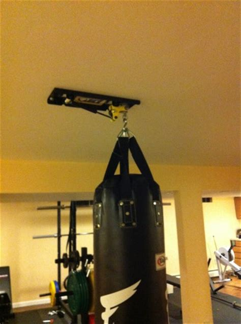 promountings gs ceiling mount for heavy bag 120lbs punching bag hangers