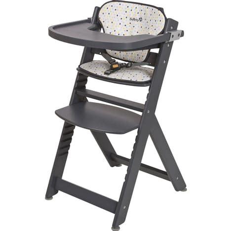 coussin pour chaise haute en bois chaise haute en bois timba coussin safety pas cher