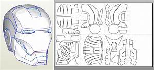 printable iron man helmet template images With iron man helmet template download