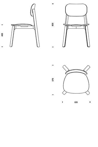 Download 2D 3D CAD files Bark Chair , Download CAD Cad