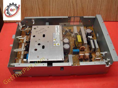 For that purpose konica minolta's colour multifunctionals. Konica Minolta Bizhub C452 C552 C652 Complete Main Power Supply Assy