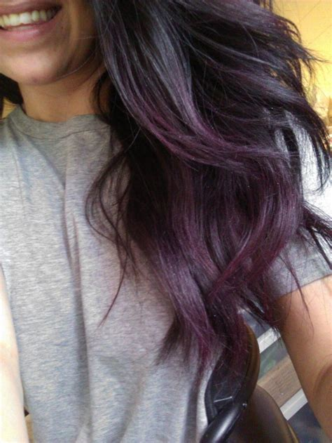 The 25 Best Subtle Purple Hair Ideas On Pinterest Plum