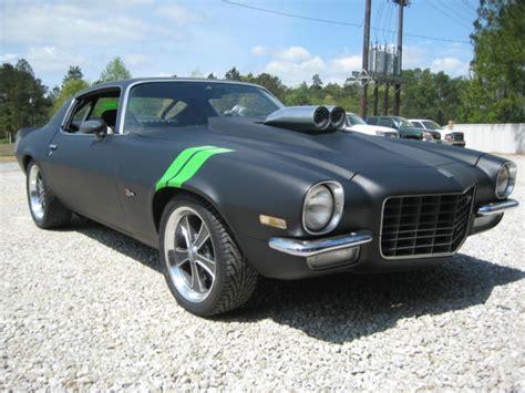 seller  classic cars  chevrolet camaro blackblack