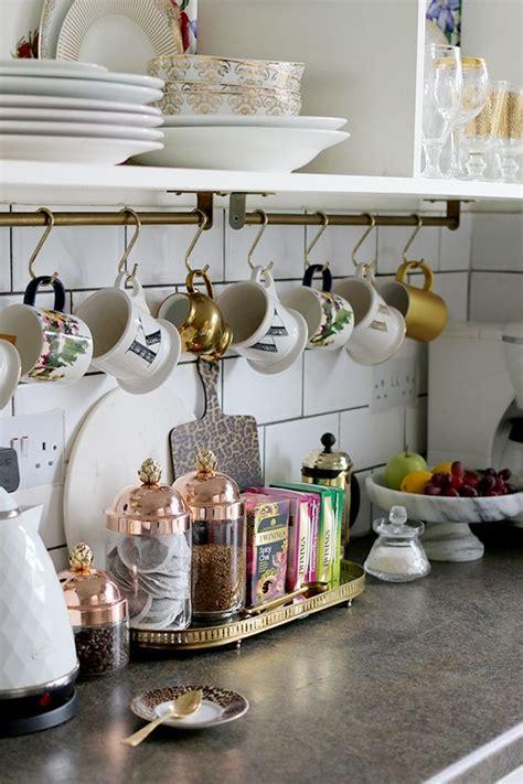 Cabinet Coffee Mug Holder by 21 Diy Coffee Racks To Organize Your Morning Cup Of Joe