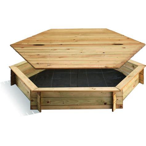 le bac a bac 224 bois hexagonal aires de jeux le bac et bac