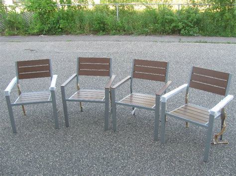 high end patio furniture and general consignment auction