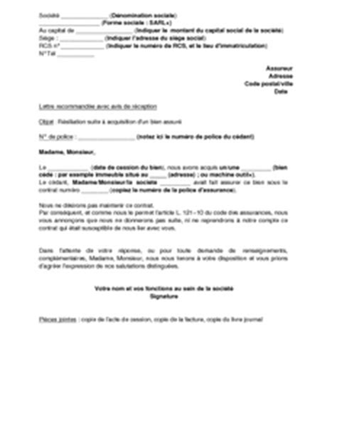 modele lettre suspension de credit immobilier lettre de r 233 siliation d un contrat d assurance suite 224 l