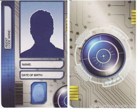 homemade spy id cards