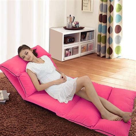 chaise balcon foldable chaise lounge chairs sofa bed tatami sofa beanbag