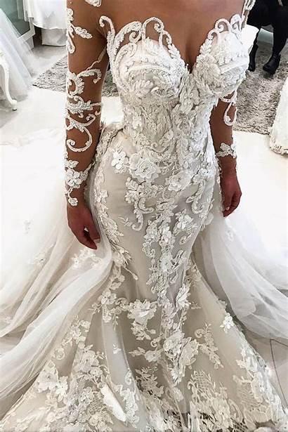 Dresses Mermaid Satin Strapless Backless Bridal Train