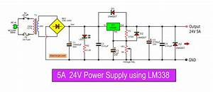 9 Ways To Build 24v Power Supply Circuits With Easy Parts