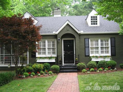 image result for forest green cape cod house curb appeal