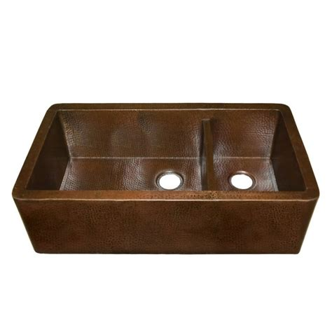 discount copper farmhouse sinks faucet com cps274 in antique copper by native trails