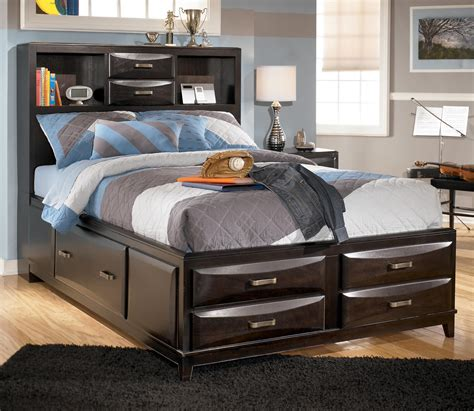 bookcase headboard king king bed with bookcase headboard platform storage bed w