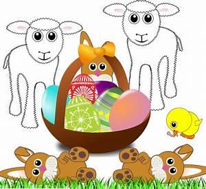 Rechtzeitig Zu Ostern Ausmalbilder Kostenlos Ausdrucken