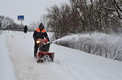 Jānis Hauka: Sniega tīrīšana problēmas nesagādā ...
