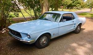 Ford Mustang 1967 Coupe Hardtop 6-cylinder 200ltr Automatic Arcadian Blue | Cruis'news
