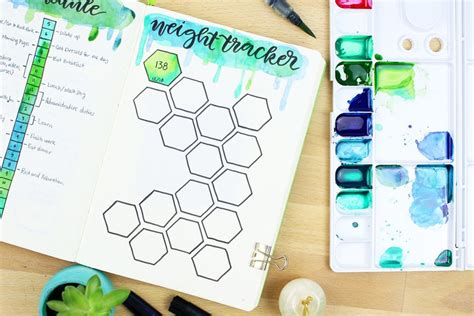 bullet journal  weight loss  pages  smashing