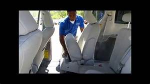 How To Stow And Remove Seats In The 2014 Toyota Sienna