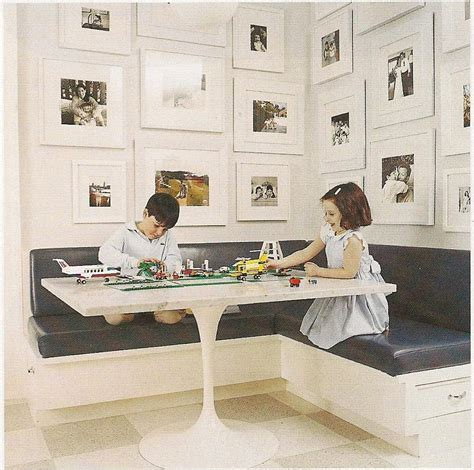 postcards  colorado kitchen banquette