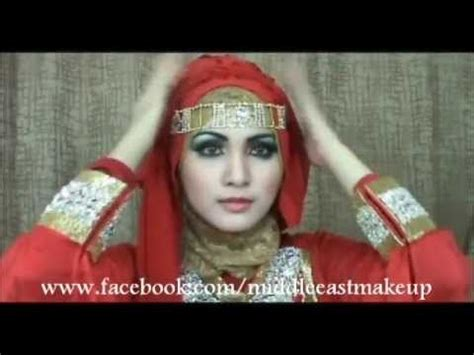 favourite arab inspired party hijab tutorial hijab