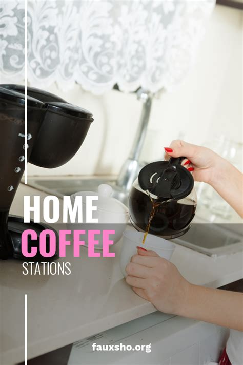 Any information published on this website or by this brand is. Practical Home Coffee Stations For Caffeine Hydration