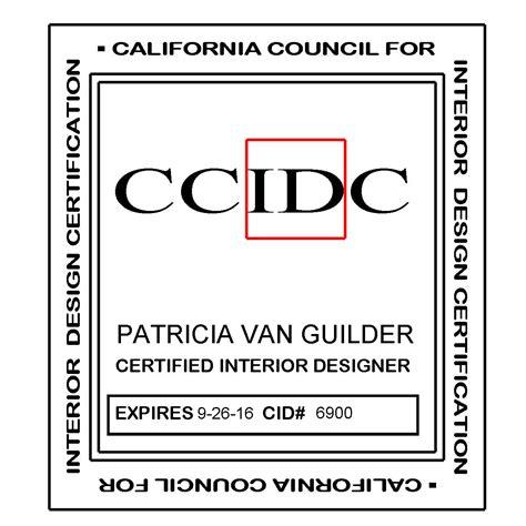 interior design license california requirements