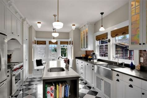 black and white checkered kitchen floor checkered patterns for home decor charming or cheap 9268