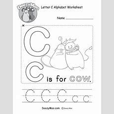 Black And White Alphabet Chart (free Printable)  Doozy Moo