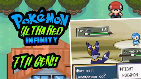 pokemon ultra red infinity  gba pokemon rom hack