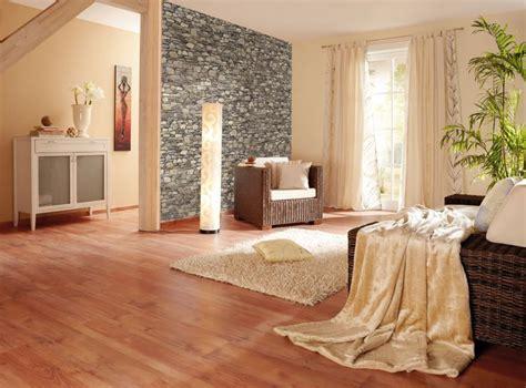 Herrlich Wohnzimmergestaltung In Beige Grau Steintapete Beige Wohnzimmer