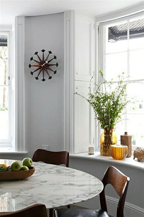 d馗oration murale cuisine moderne on vous présente la table en marbre