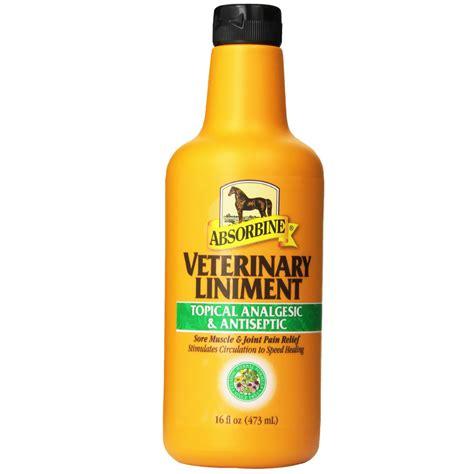 liniment absorbine horses vet oz horse pain walmart soreness entirelypets relievers livestock brands write