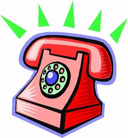 Telephone Cartoon Office Clipart