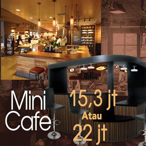 paket khusus mini cafe waralaba coffee shop dengan harga terjangkau